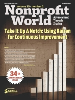 nonprofit world cover